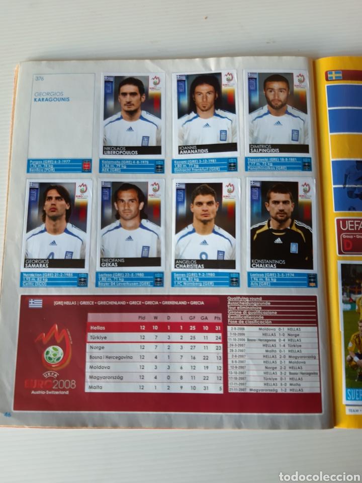 Coleccionismo deportivo: Álbum de cromos Eurocopa 2008 Austria Suiza Panini - Foto 44 - 168484230