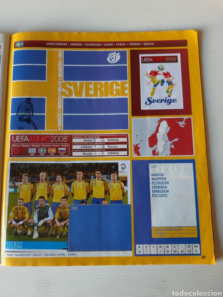 Coleccionismo deportivo: Álbum de cromos Eurocopa 2008 Austria Suiza Panini - Foto 45 - 168484230