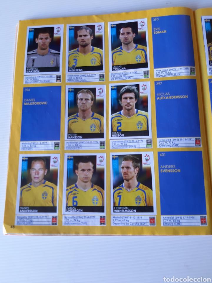 Coleccionismo deportivo: Álbum de cromos Eurocopa 2008 Austria Suiza Panini - Foto 46 - 168484230