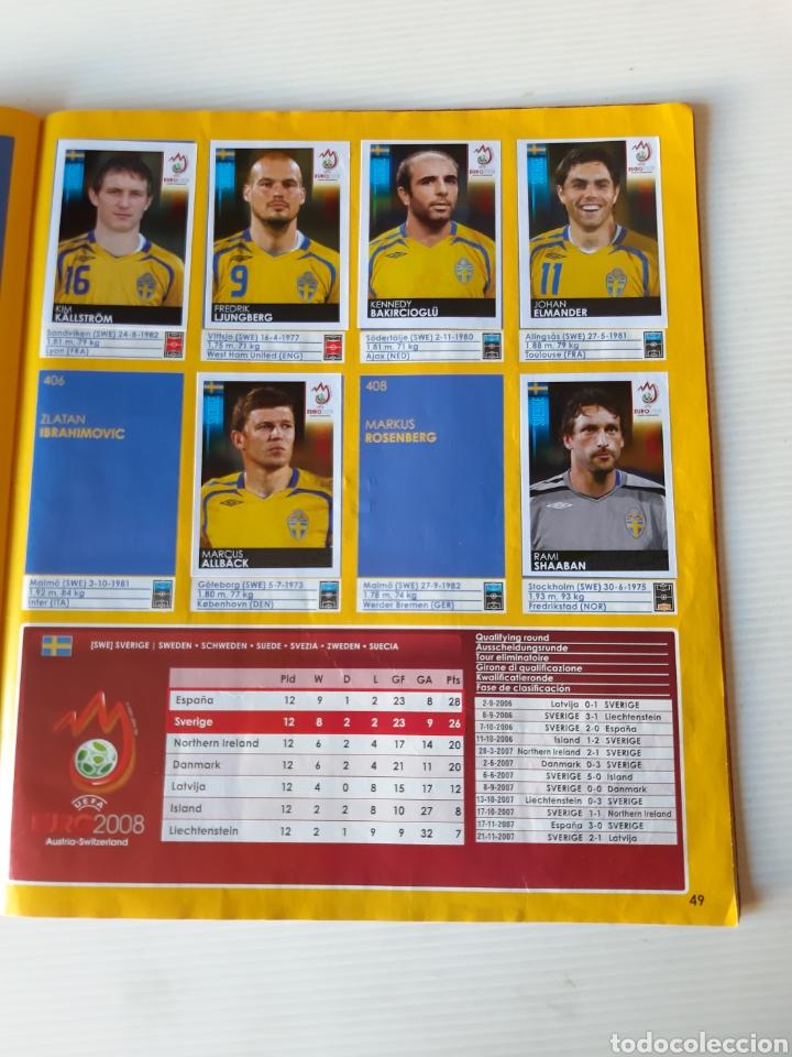 Coleccionismo deportivo: Álbum de cromos Eurocopa 2008 Austria Suiza Panini - Foto 47 - 168484230