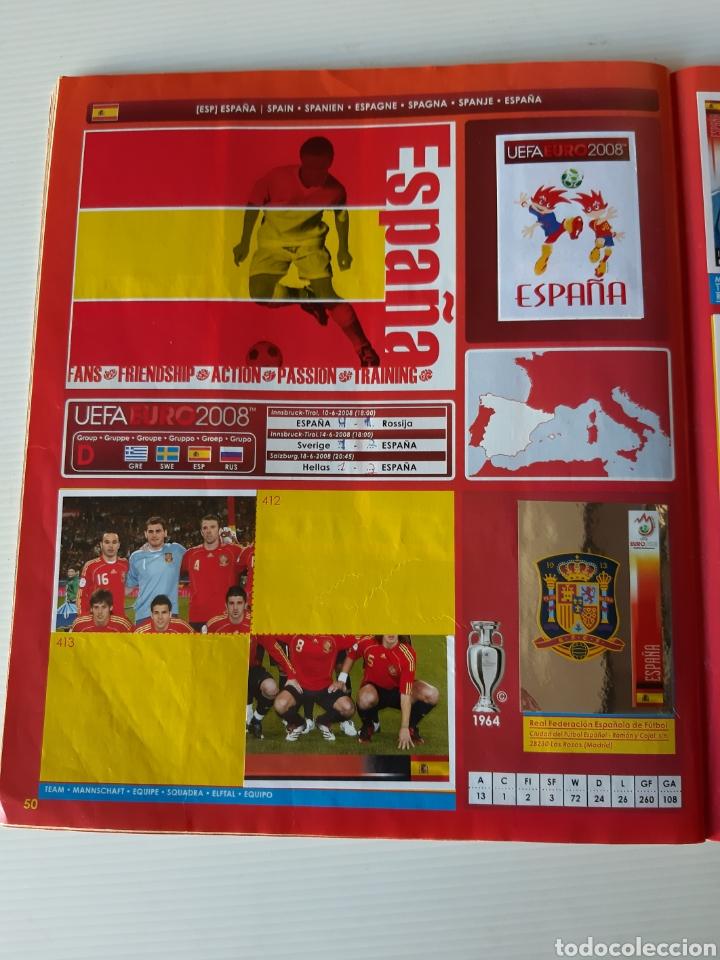 Coleccionismo deportivo: Álbum de cromos Eurocopa 2008 Austria Suiza Panini - Foto 48 - 168484230