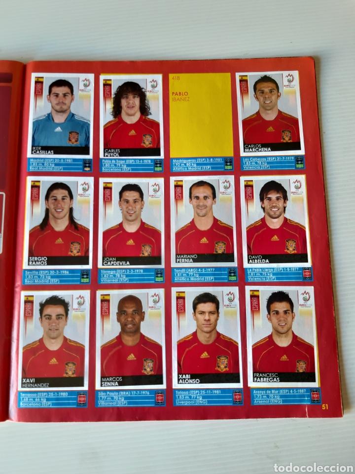Coleccionismo deportivo: Álbum de cromos Eurocopa 2008 Austria Suiza Panini - Foto 49 - 168484230