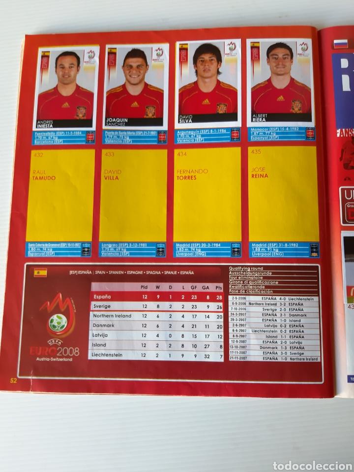 Coleccionismo deportivo: Álbum de cromos Eurocopa 2008 Austria Suiza Panini - Foto 50 - 168484230