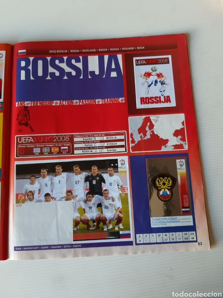 Coleccionismo deportivo: Álbum de cromos Eurocopa 2008 Austria Suiza Panini - Foto 51 - 168484230