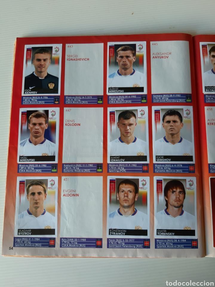 Coleccionismo deportivo: Álbum de cromos Eurocopa 2008 Austria Suiza Panini - Foto 52 - 168484230