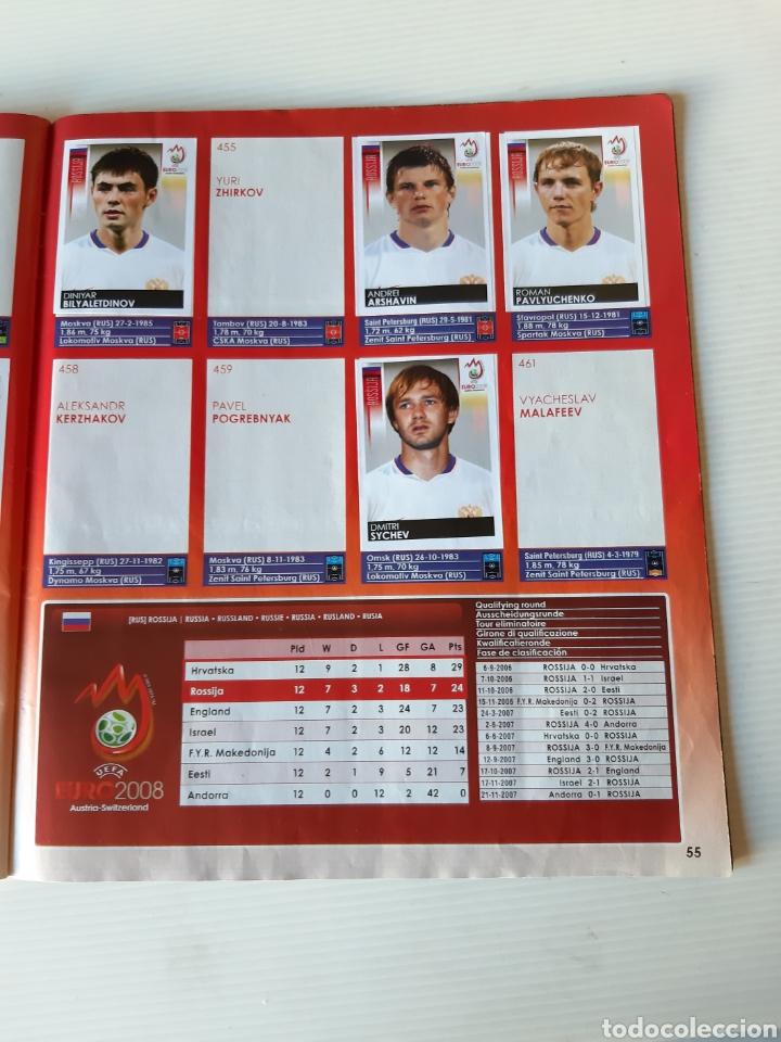 Coleccionismo deportivo: Álbum de cromos Eurocopa 2008 Austria Suiza Panini - Foto 53 - 168484230