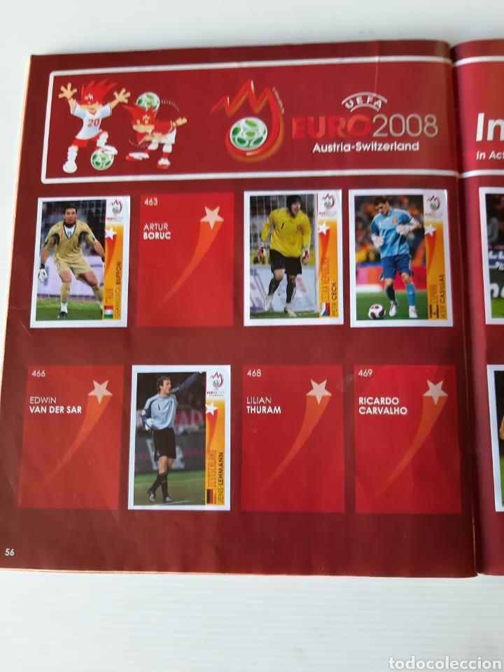 Coleccionismo deportivo: Álbum de cromos Eurocopa 2008 Austria Suiza Panini - Foto 54 - 168484230