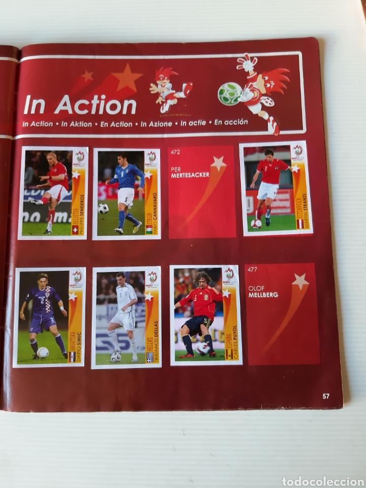 Coleccionismo deportivo: Álbum de cromos Eurocopa 2008 Austria Suiza Panini - Foto 55 - 168484230