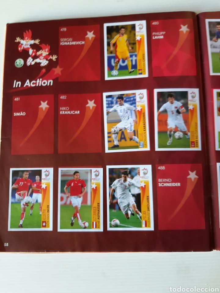 Coleccionismo deportivo: Álbum de cromos Eurocopa 2008 Austria Suiza Panini - Foto 56 - 168484230