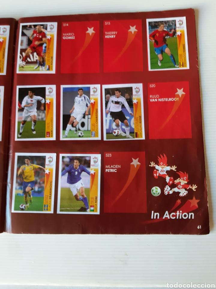 Coleccionismo deportivo: Álbum de cromos Eurocopa 2008 Austria Suiza Panini - Foto 59 - 168484230