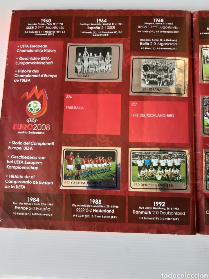 Coleccionismo deportivo: Álbum de cromos Eurocopa 2008 Austria Suiza Panini - Foto 60 - 168484230