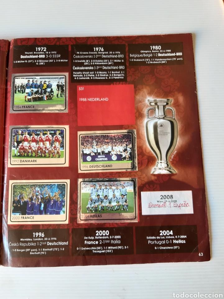 Coleccionismo deportivo: Álbum de cromos Eurocopa 2008 Austria Suiza Panini - Foto 61 - 168484230