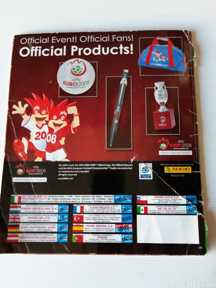 Coleccionismo deportivo: Álbum de cromos Eurocopa 2008 Austria Suiza Panini - Foto 62 - 168484230