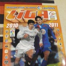 Coleccionismo deportivo: ALBUM LIGA ESTE 2010 -2011 10 11 PANINI. CON 484 CROMOS DIFERENTES CON VARIOS COLOCAS. Lote 168526268