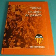 Coleccionismo deportivo: ALBUM VALENCIA C.F. 1919 - 2019. UN SIGLO DE PASIÓN. SIN CROMOS. Lote 168628292