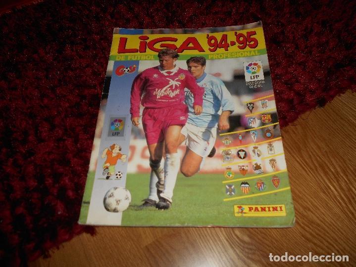 ÁLBUM NO COMPLETOLIGA 1994-1995 94-95 - PANINI VER FOTOS EN INTERIORES FALTAN 13 CROMOS (Coleccionismo Deportivo - Álbumes y Cromos de Deportes - Álbumes de Fútbol Incompletos)