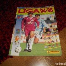 Coleccionismo deportivo: ÁLBUM NO COMPLETOLIGA 1994-1995 94-95 - PANINI VER FOTOS EN INTERIORES FALTAN 13 CROMOS. Lote 168642132