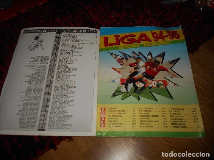 Coleccionismo deportivo: Álbum NO COMPLETOLiga 1994-1995 94-95 - Panini Ver fotos en interiores FALTAN 13 CROMOS - Foto 2 - 168642132