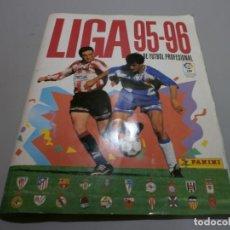 Coleccionismo deportivo: ALBUM LIGA 95 96 PANINI MUY COMPLETO CON MUCHOS DOBLES FOTOS DE TODAS LAS HOJAS. Lote 168712716