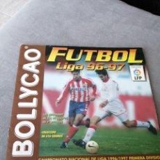 Coleccionismo deportivo: ALBUM BOLLYCAO LIGA 96/97. Lote 168719928