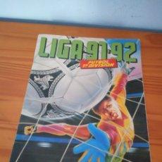 Coleccionismo deportivo: ALBUM ED ESTE 91 92 CROMO FUTBOL LIGA 1991 1992 TEMPORADA - VACIO CROMOS DESPEGADOS. Lote 168988292