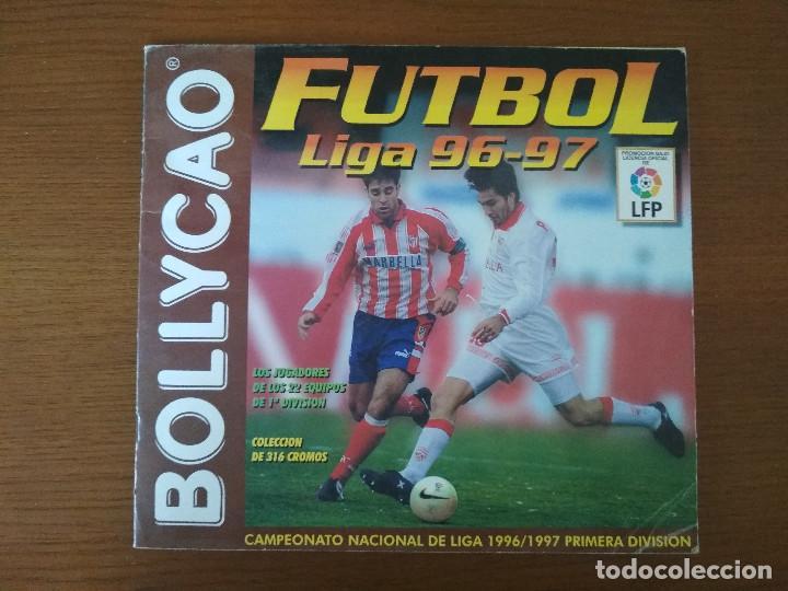 ALBUM CROMOS - LIGA FÚTBOL 1996-1997 96-97, BOLLYCAO (Coleccionismo Deportivo - Álbumes y Cromos de Deportes - Álbumes de Fútbol Incompletos)