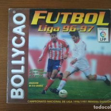 Coleccionismo deportivo: ALBUM CROMOS - LIGA FÚTBOL 1996-1997 96-97, BOLLYCAO. Lote 169110216