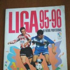 Coleccionismo deportivo: ÁLBUM FÚTBOL CROMOS - LIGA 1995-1996, 95-96 - PANINI. Lote 169112468
