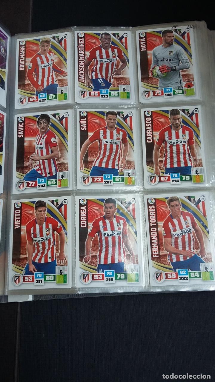 Coleccionismo deportivo: ADRENALYN 2015/2016 15 16 - PANINI - ARCHIVADOR CON 473 CARDS ( INCLUYE SUPERCRACKS, BISES ... ... - Foto 6 - 169185152