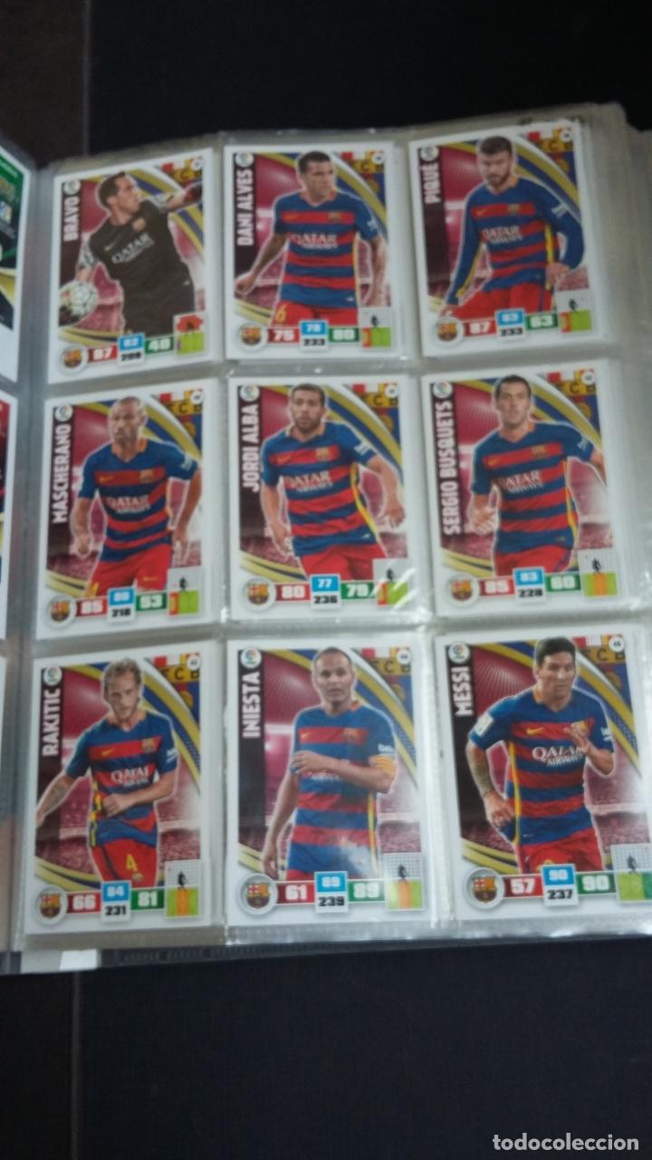 Coleccionismo deportivo: ADRENALYN 2015/2016 15 16 - PANINI - ARCHIVADOR CON 473 CARDS ( INCLUYE SUPERCRACKS, BISES ... ... - Foto 8 - 169185152
