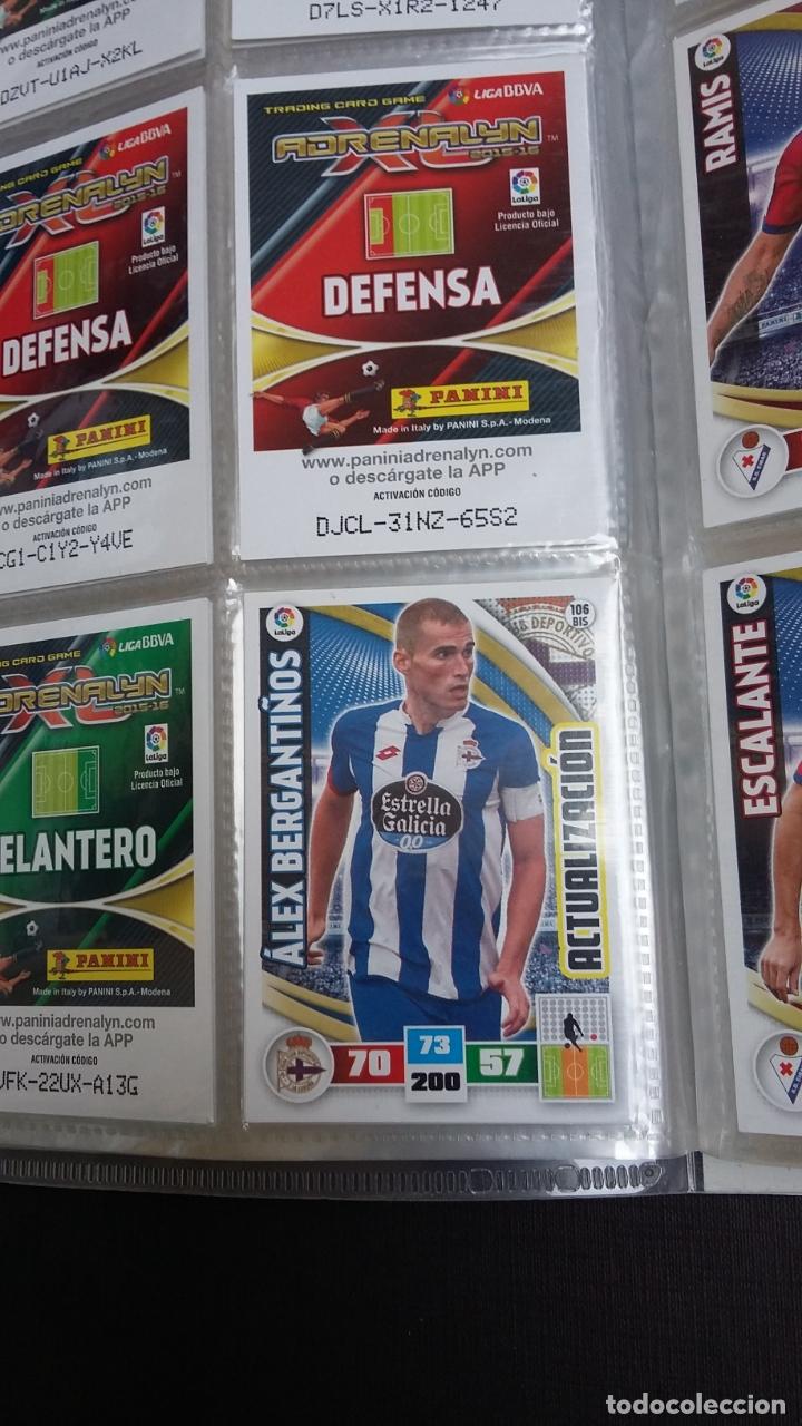Coleccionismo deportivo: ADRENALYN 2015/2016 15 16 - PANINI - ARCHIVADOR CON 473 CARDS ( INCLUYE SUPERCRACKS, BISES ... ... - Foto 17 - 169185152