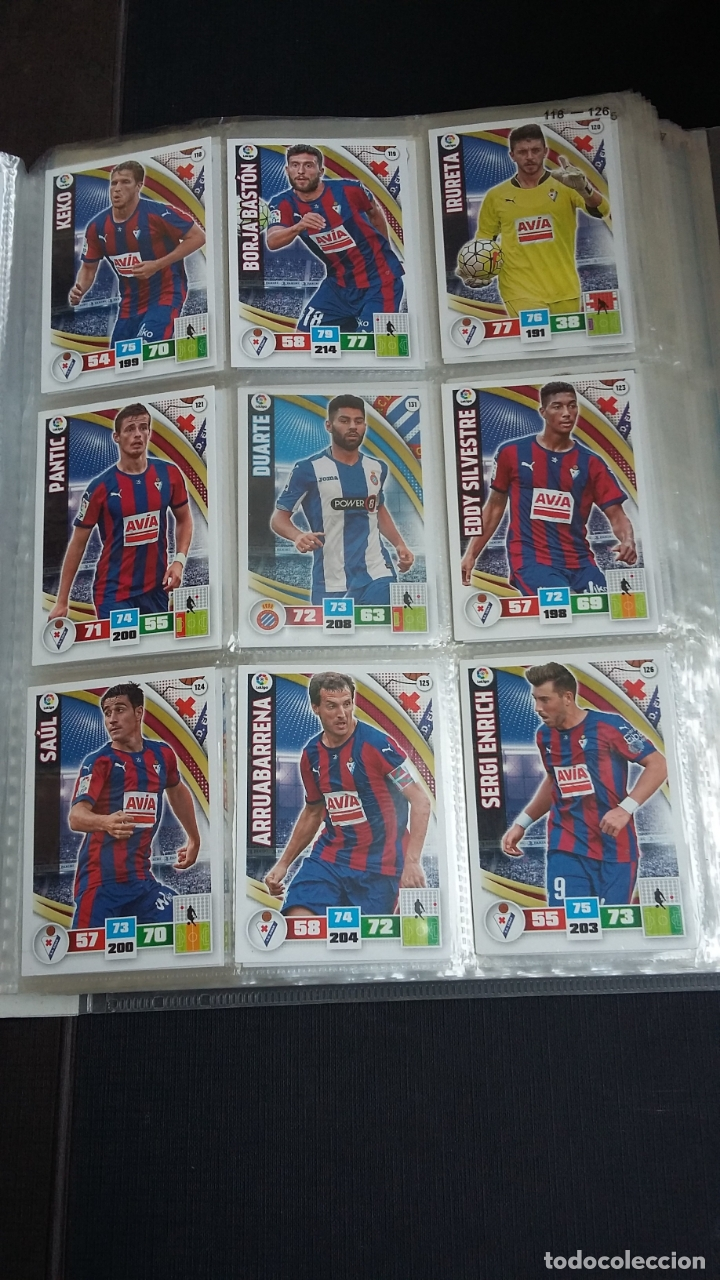Coleccionismo deportivo: ADRENALYN 2015/2016 15 16 - PANINI - ARCHIVADOR CON 473 CARDS ( INCLUYE SUPERCRACKS, BISES ... ... - Foto 19 - 169185152