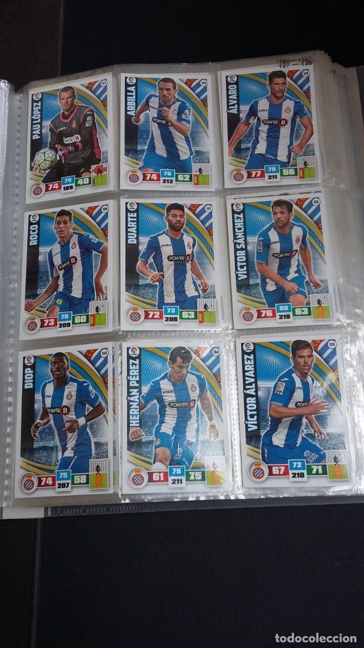 Coleccionismo deportivo: ADRENALYN 2015/2016 15 16 - PANINI - ARCHIVADOR CON 473 CARDS ( INCLUYE SUPERCRACKS, BISES ... ... - Foto 20 - 169185152