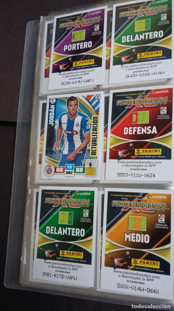 Coleccionismo deportivo: ADRENALYN 2015/2016 15 16 - PANINI - ARCHIVADOR CON 473 CARDS ( INCLUYE SUPERCRACKS, BISES ... ... - Foto 22 - 169185152