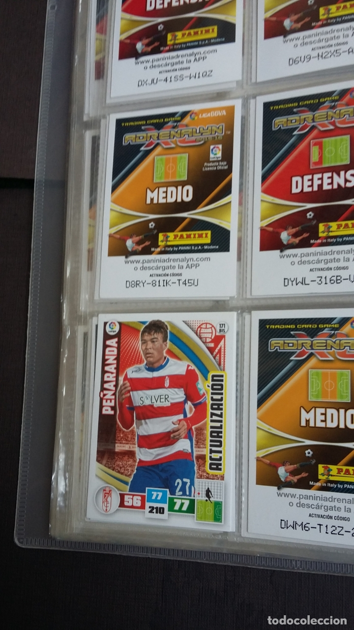 Coleccionismo deportivo: ADRENALYN 2015/2016 15 16 - PANINI - ARCHIVADOR CON 473 CARDS ( INCLUYE SUPERCRACKS, BISES ... ... - Foto 27 - 169185152