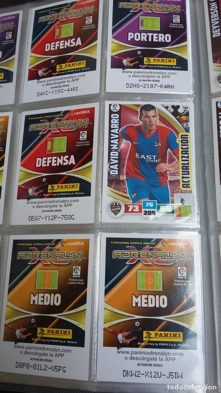 Coleccionismo deportivo: ADRENALYN 2015/2016 15 16 - PANINI - ARCHIVADOR CON 473 CARDS ( INCLUYE SUPERCRACKS, BISES ... ... - Foto 32 - 169185152