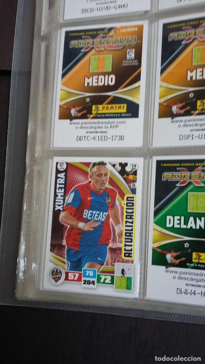 Coleccionismo deportivo: ADRENALYN 2015/2016 15 16 - PANINI - ARCHIVADOR CON 473 CARDS ( INCLUYE SUPERCRACKS, BISES ... ... - Foto 34 - 169185152