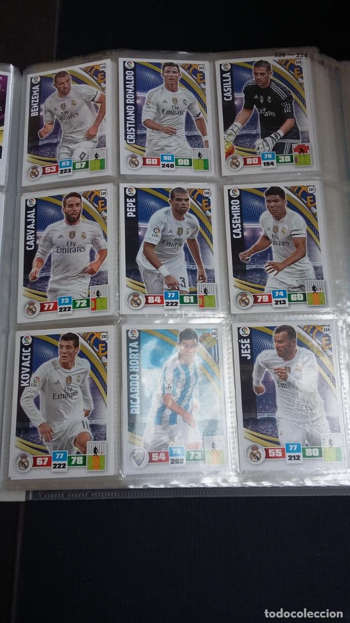 Coleccionismo deportivo: ADRENALYN 2015/2016 15 16 - PANINI - ARCHIVADOR CON 473 CARDS ( INCLUYE SUPERCRACKS, BISES ... ... - Foto 36 - 169185152