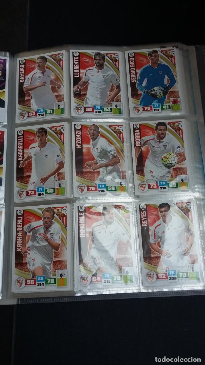 Coleccionismo deportivo: ADRENALYN 2015/2016 15 16 - PANINI - ARCHIVADOR CON 473 CARDS ( INCLUYE SUPERCRACKS, BISES ... ... - Foto 50 - 169185152