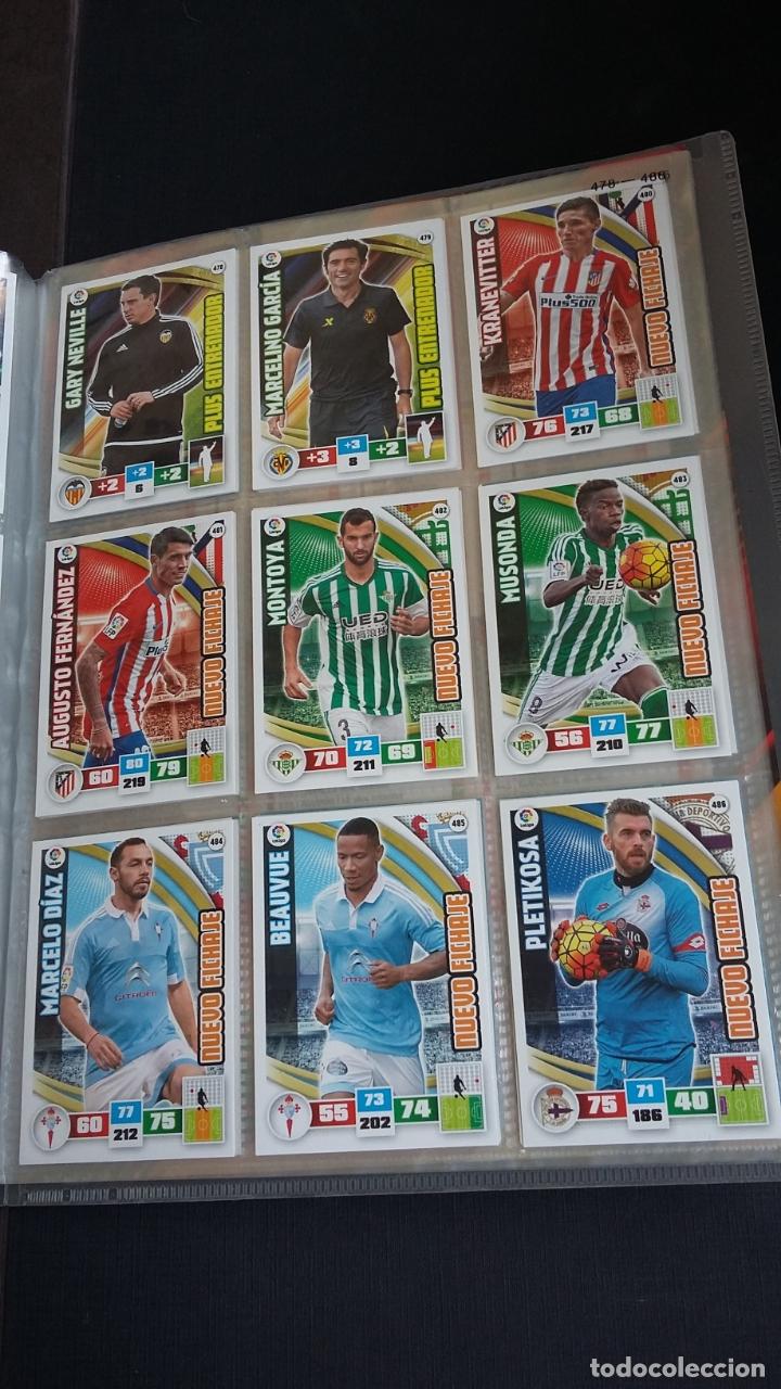 Coleccionismo deportivo: ADRENALYN 2015/2016 15 16 - PANINI - ARCHIVADOR CON 473 CARDS ( INCLUYE SUPERCRACKS, BISES ... ... - Foto 72 - 169185152
