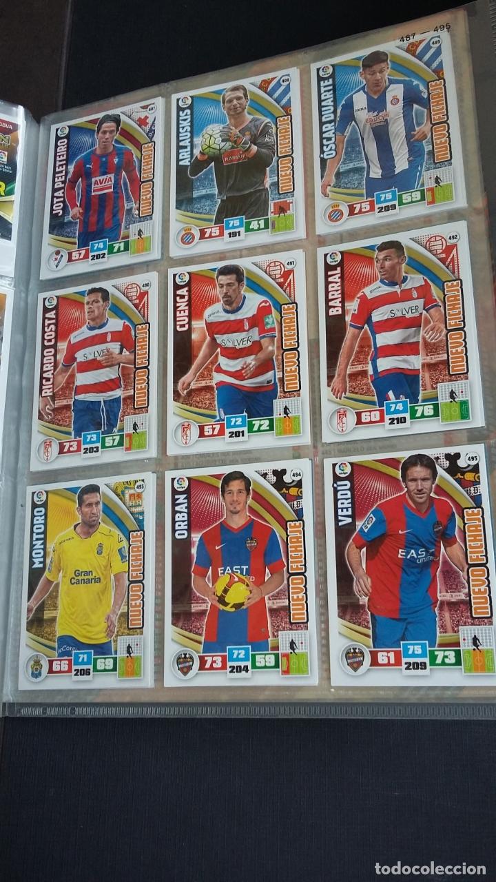 Coleccionismo deportivo: ADRENALYN 2015/2016 15 16 - PANINI - ARCHIVADOR CON 473 CARDS ( INCLUYE SUPERCRACKS, BISES ... ... - Foto 73 - 169185152