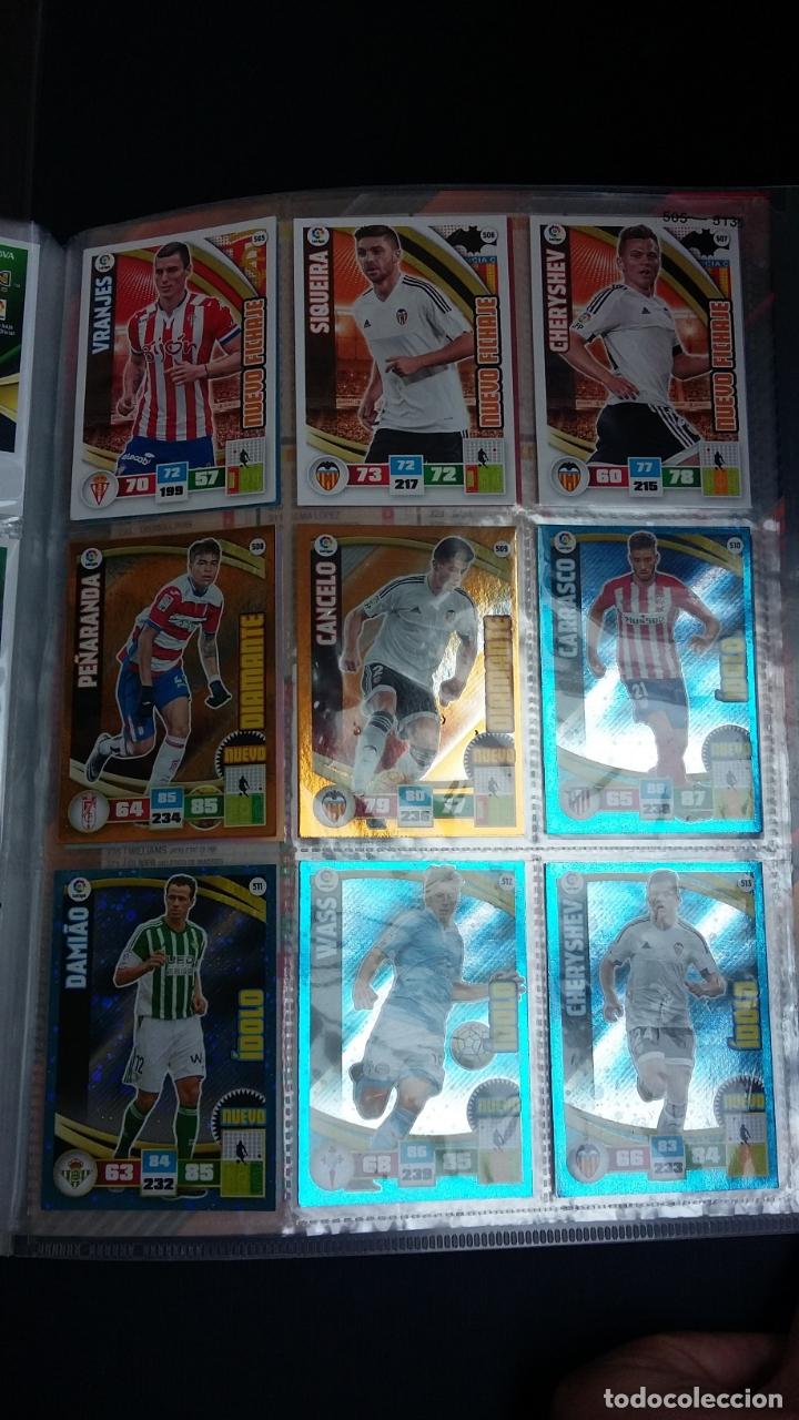Coleccionismo deportivo: ADRENALYN 2015/2016 15 16 - PANINI - ARCHIVADOR CON 473 CARDS ( INCLUYE SUPERCRACKS, BISES ... ... - Foto 76 - 169185152