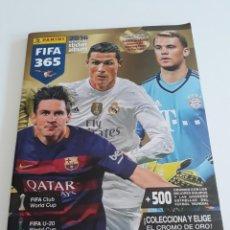 Coleccionismo deportivo: ALBUM FIFA 365 2016 OFFICIAL STICKER - PANINI - CON 604 CROMOS. Lote 169332860