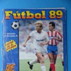 Coleccionismo deportivo: ALBUM CROMOS - FUTBOL 89 - PANINI - VER DESCRIPCION Y FOTOS. Lote 169389660