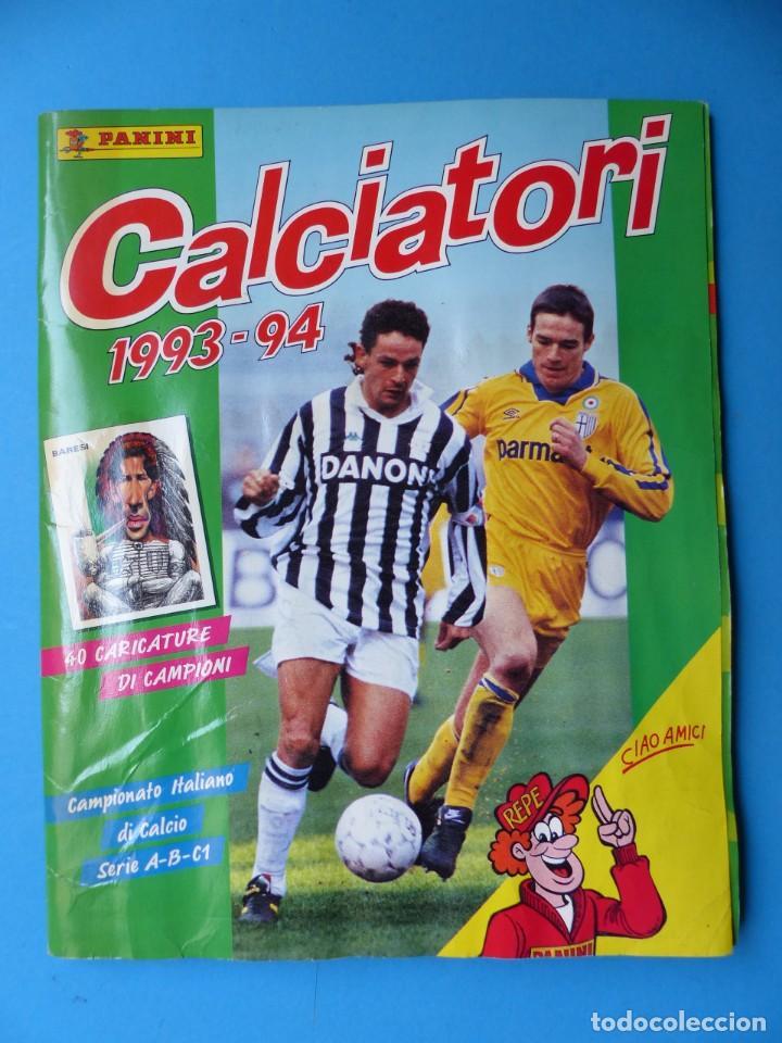 ALBUM CROMOS - CALCIATORI 1993-1994 93-94 - PANINI - VER DESCRIPCION Y FOTOS (Coleccionismo Deportivo - Álbumes y Cromos de Deportes - Álbumes de Fútbol Incompletos)