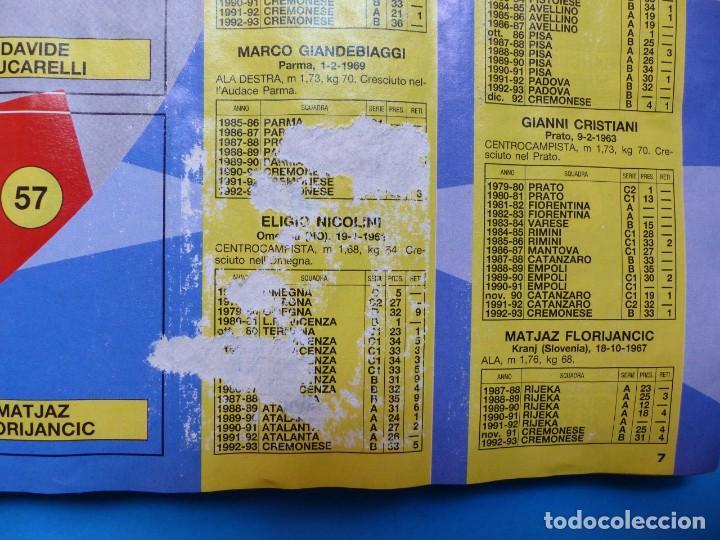 Coleccionismo deportivo: ALBUM CROMOS - CALCIATORI 1993-1994 93-94 - PANINI - VER DESCRIPCION Y FOTOS - Foto 6 - 169392796