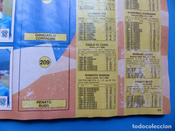 Coleccionismo deportivo: ALBUM CROMOS - CALCIATORI 1993-1994 93-94 - PANINI - VER DESCRIPCION Y FOTOS - Foto 22 - 169392796