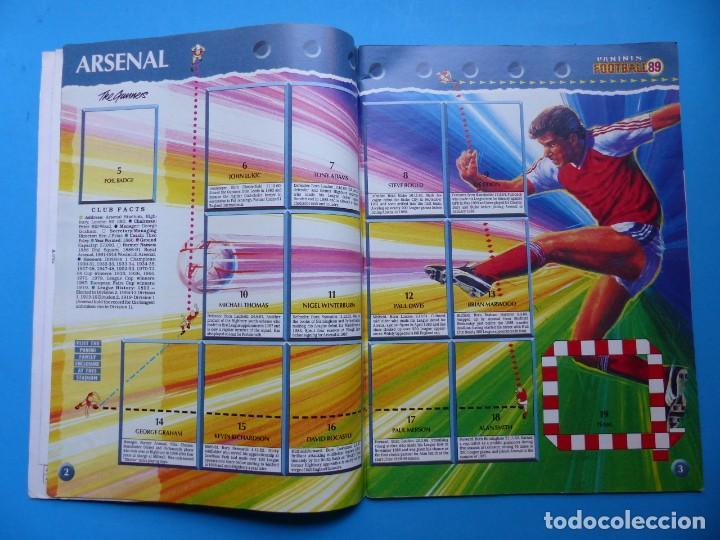 Coleccionismo deportivo: ALBUM CROMOS - FOOTBALL 1989 89, STICKER ALBUM, PANINI - VER DESCRIPCION Y FOTOS - Foto 3 - 169397960