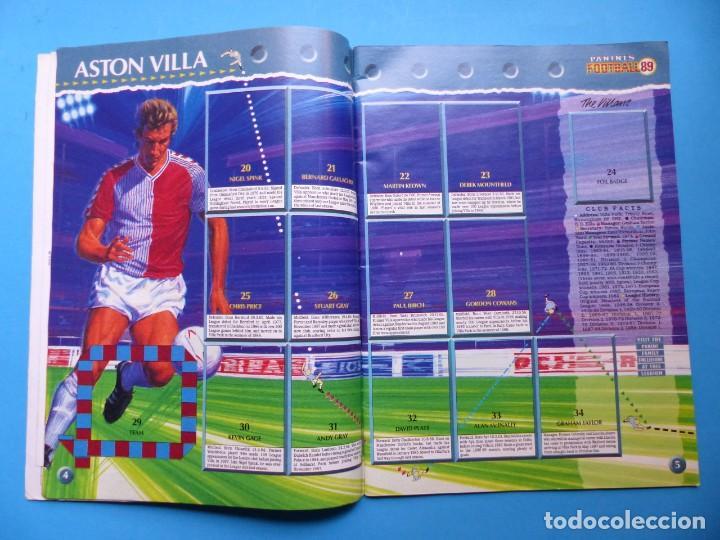 Coleccionismo deportivo: ALBUM CROMOS - FOOTBALL 1989 89, STICKER ALBUM, PANINI - VER DESCRIPCION Y FOTOS - Foto 4 - 169397960