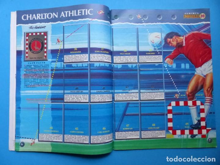 Coleccionismo deportivo: ALBUM CROMOS - FOOTBALL 1989 89, STICKER ALBUM, PANINI - VER DESCRIPCION Y FOTOS - Foto 5 - 169397960